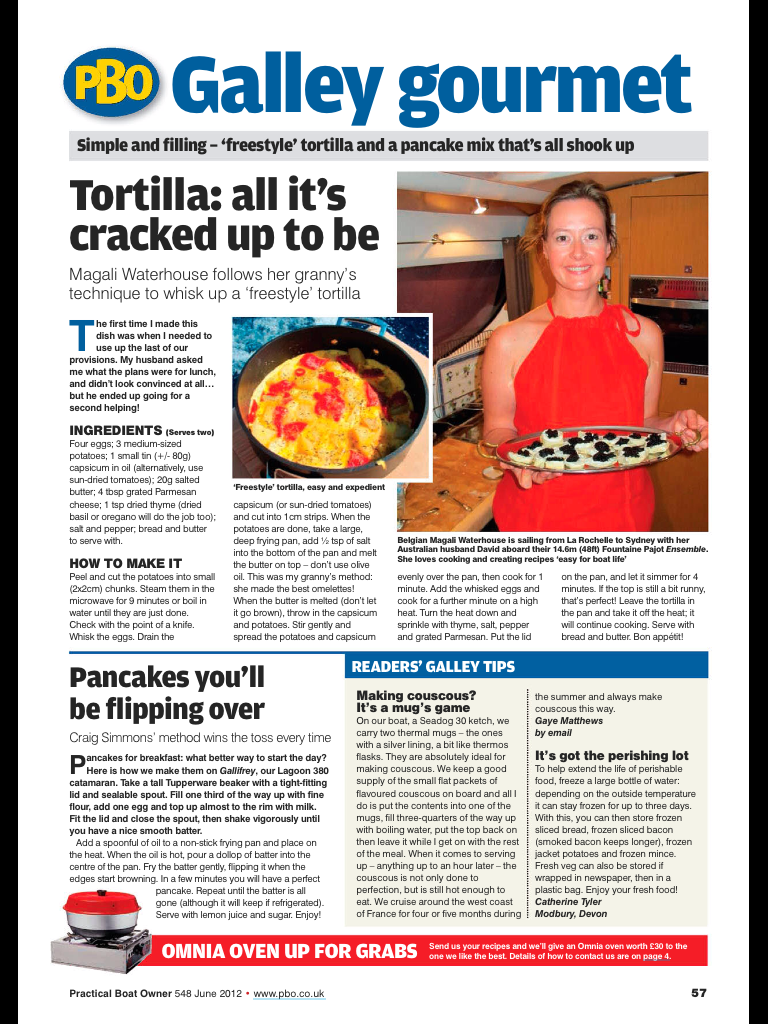 Practical Boat Owner June 2012 – Free style Tortilla
