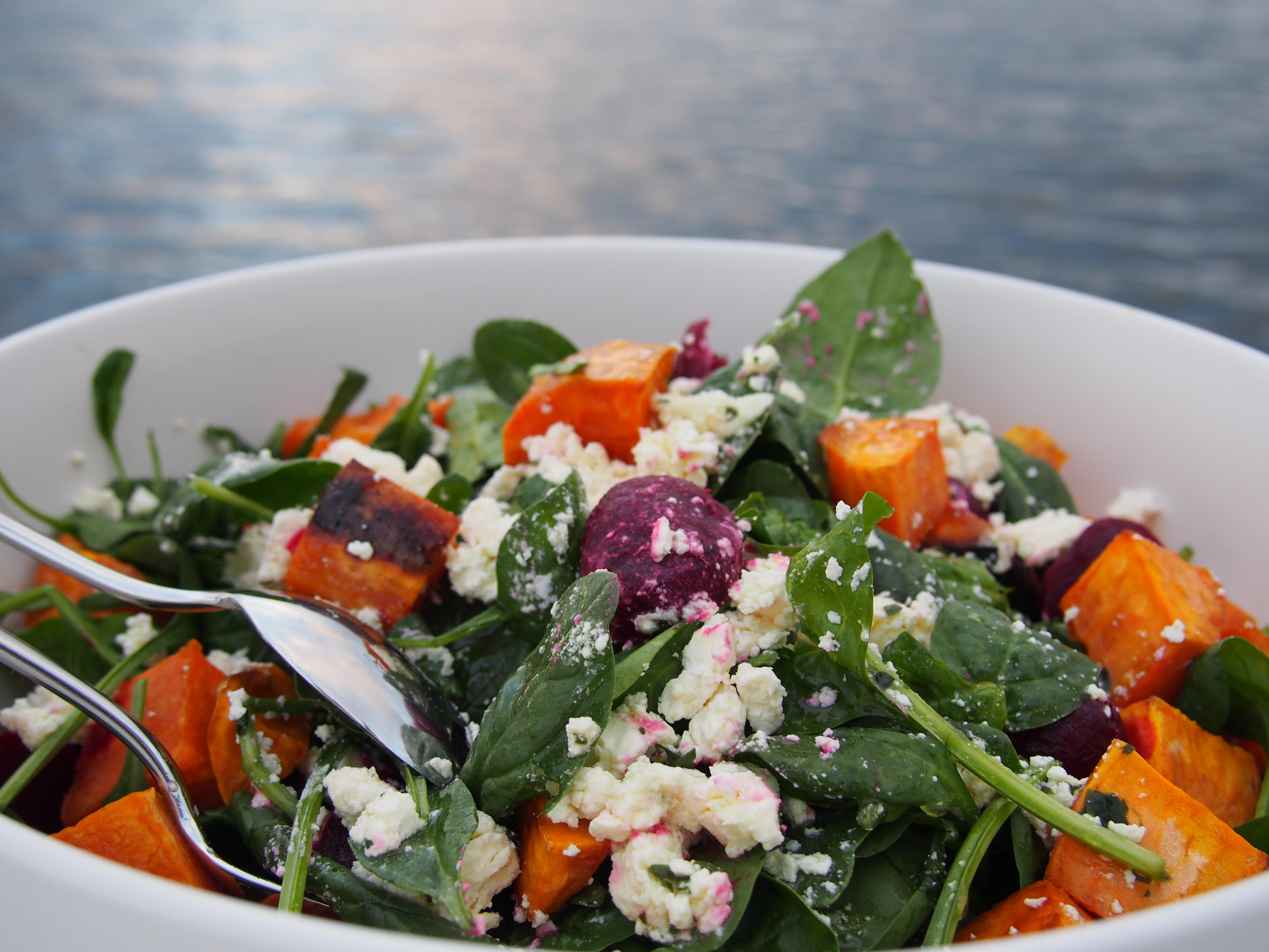Roasted Beet And Sweet Potato Salad Recipes — Dishmaps