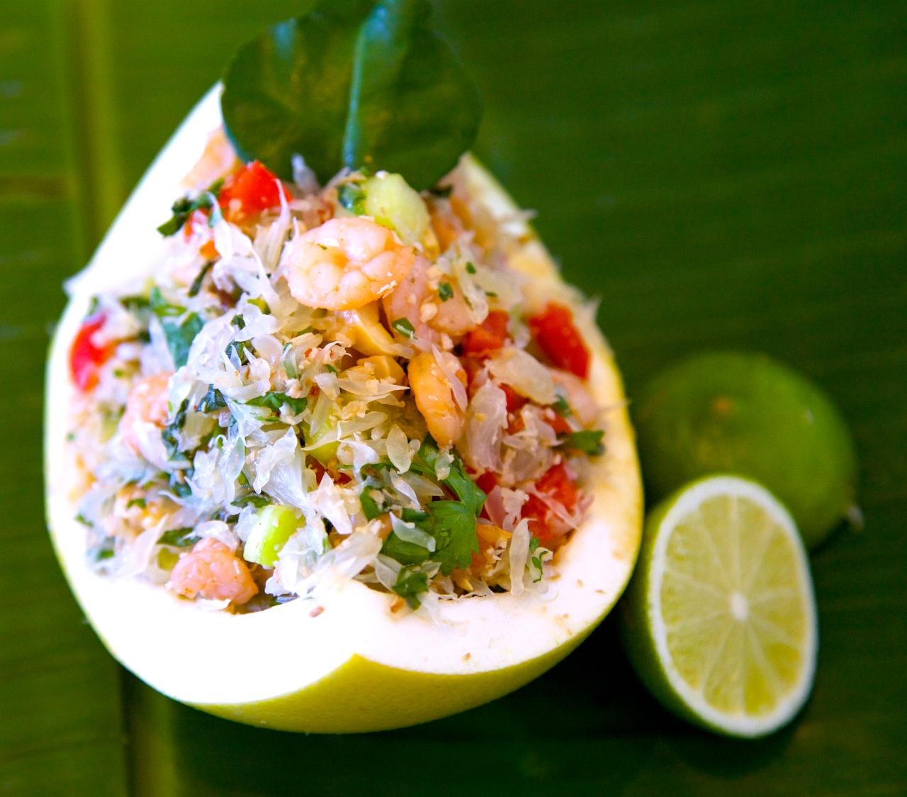 The famous Thai PomeloSalad