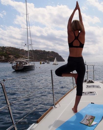 yoga on board