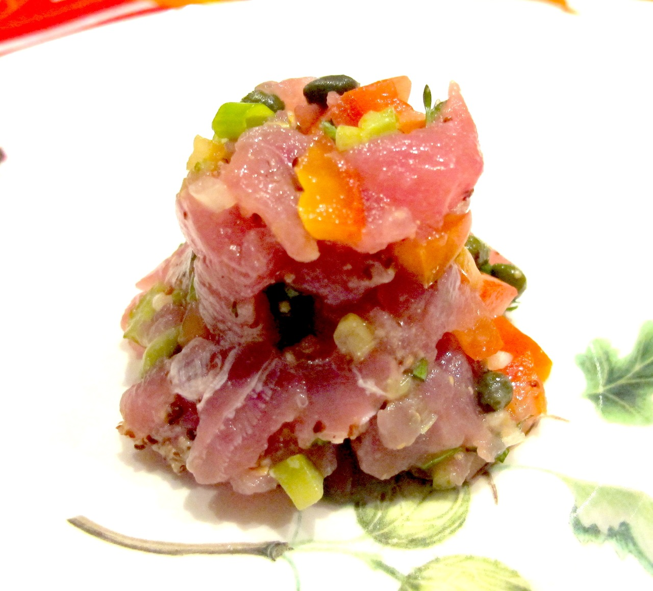 French Tartare of Tuna