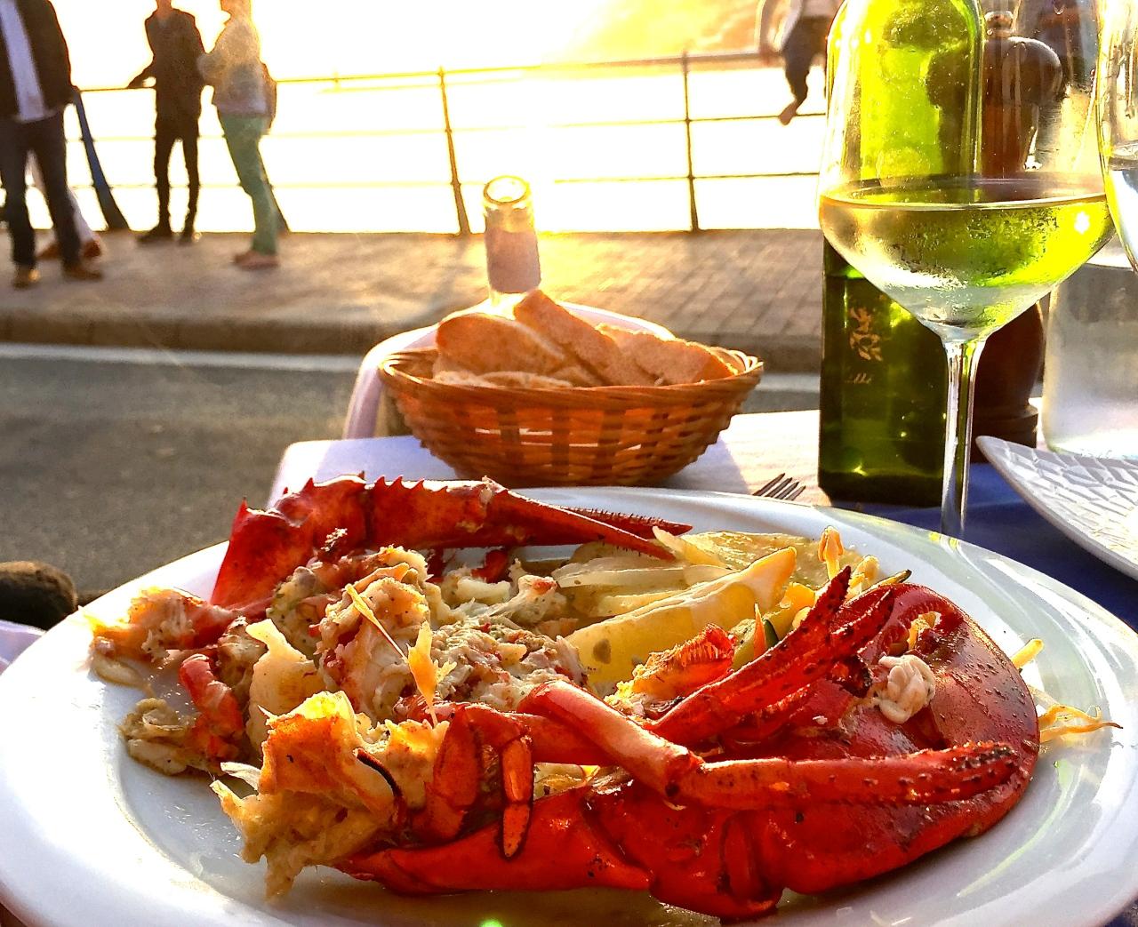 Fresh Lobster in Puerto d'Andratx!